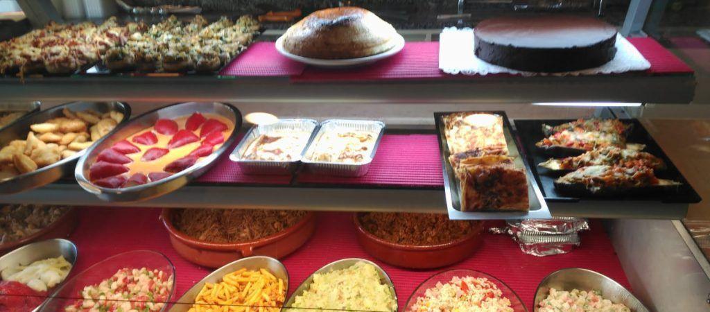 menjar per emportar Girona