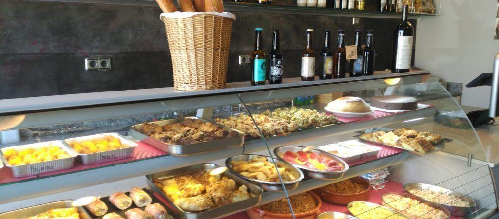 Menjar per emportar a Girona